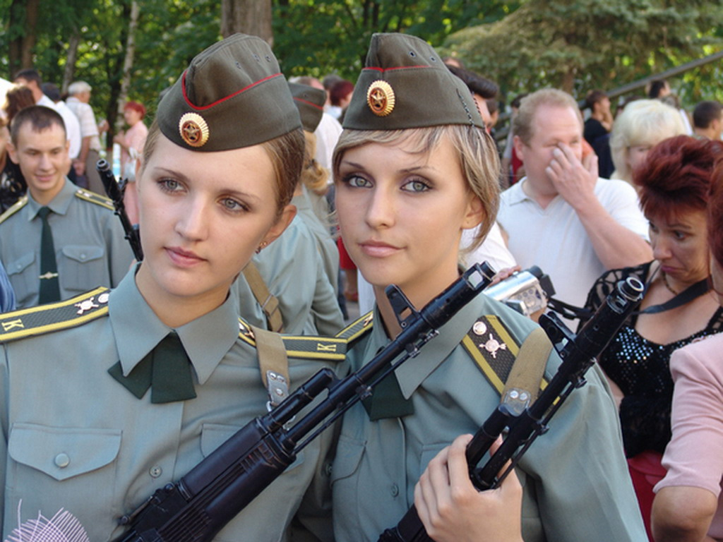 Women of Russia's armed forces, - 193.6KB