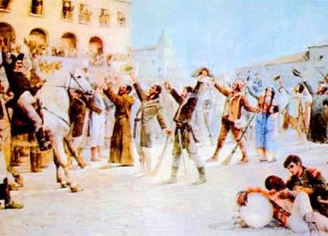 As guerras de independência foram cruciais para o fim do domínio português.