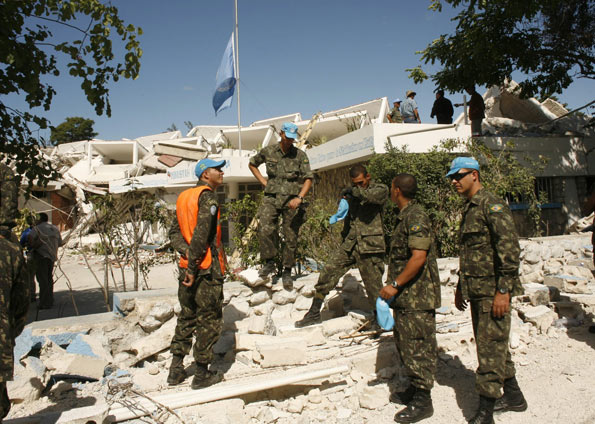 2 anos do grande terremoto do Haiti: tributo aos amigos que pereceram naquele desastre (4/4)