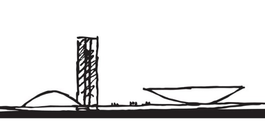Congresso_desenho Niemeyer