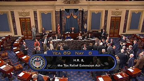 us senate fiscal cliff