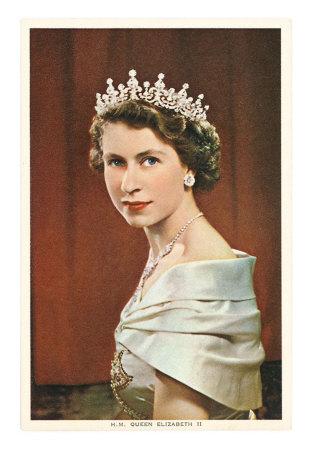 elizabeth II jovem