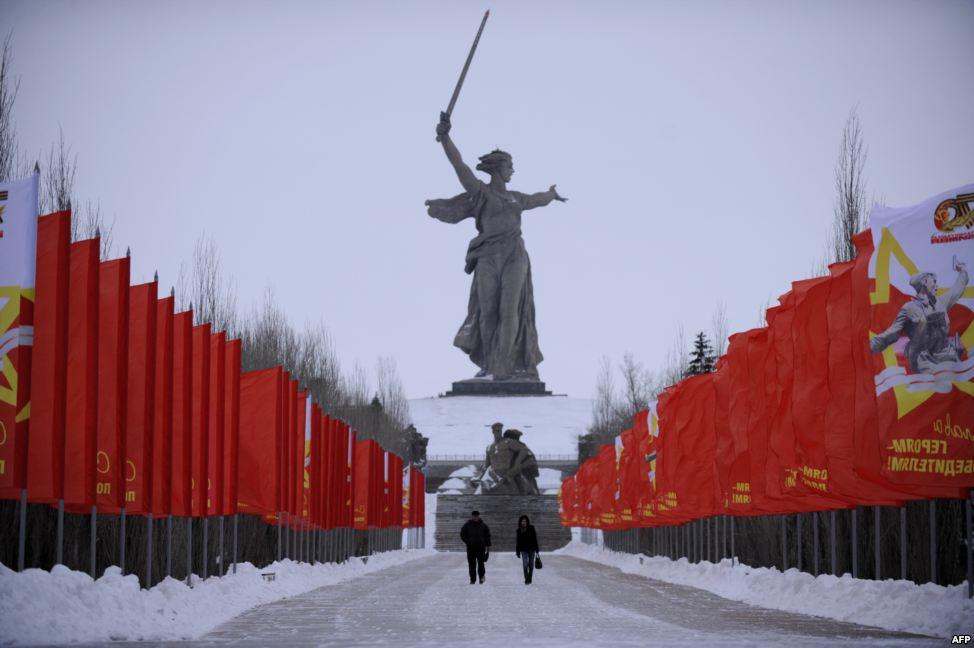 Estátua da Vitória - Stalingrado