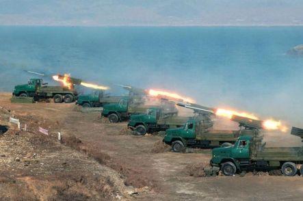 North Korean military drill-1775947
