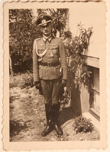 EU; DEU; Deutschland; Sinzig: der Wehrmachtssoldat Heinz Peter Fausten.