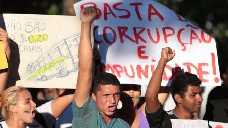 protestos quinta