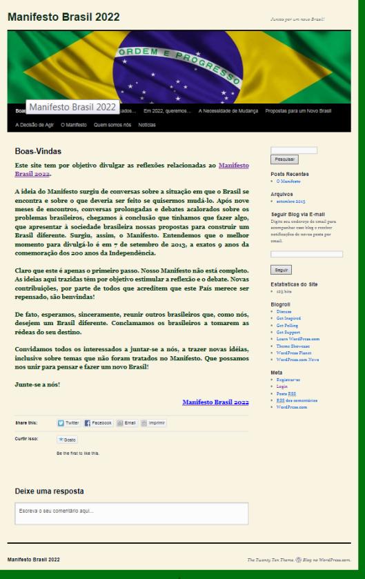 Manifesto Web