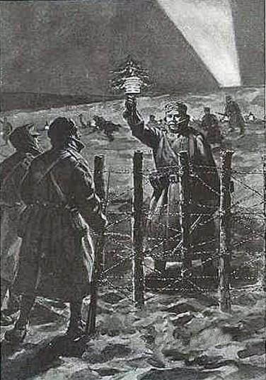 La-trève-de-noël-1914