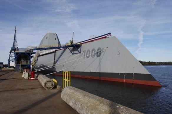 EUA lançam navio de guerra mais caro do mundo. (Foto: UNITED STATES/MARITIME MILITARY)