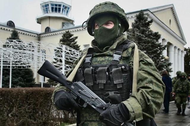 soldier russian crimea