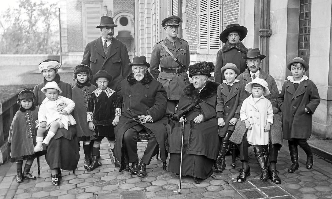 Familia Imperial no Exilio