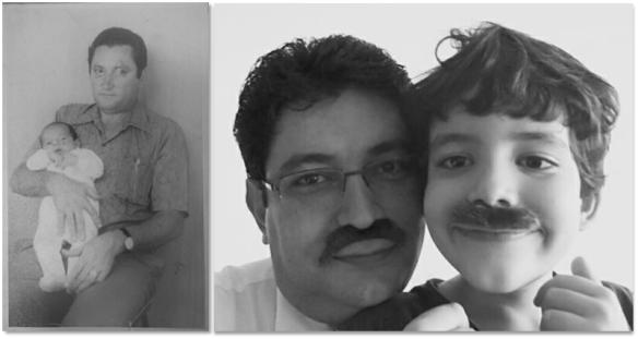 Pai eu e o Joao
